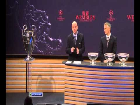 draw champions league 2010-2011 les quarts de finale