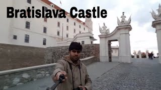 Euro Travel   A visit to Bratislava Castle, Slovakia   Travel Vlogs