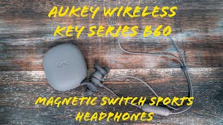 Review of the Aukey Key Series B60 Bluetooth Sports Headphones Quality Sound On A Budget