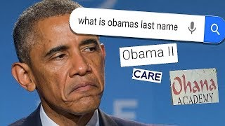 Why the internet is freaking OUT over Obama's last name  [MEME REVIEW] 👏 👏#66