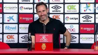 Rueda de prensa de Vicente Moreno tras el RCD Mallorca vs CD Tenerife (4-1)