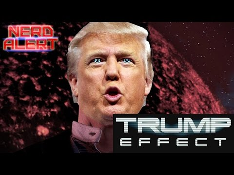 Donald Trump Thinks He's in Mass Effect