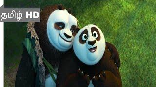 Kung Fu panda 3 (2016) - Panda Training Scene Tamil 5 | Movieclips Tamil