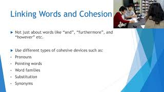 Reading and Writing Skills - Linking Words and Cohesion - 03