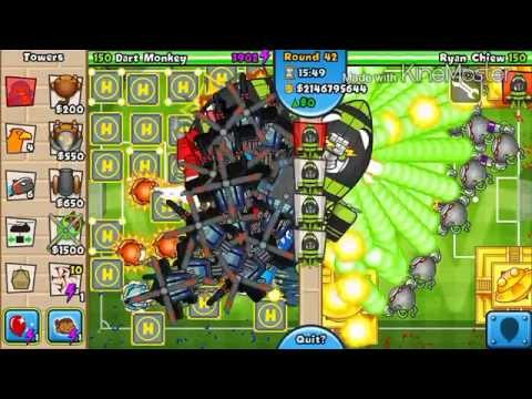BTD Battles mobile EP 4- hacker vs hacker