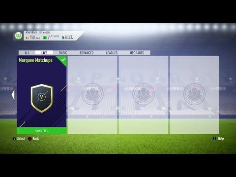 *BRAND NEW* MARQUEE MATCHUPS😍 INVESTING AND COMPLETING THE NEW SBCs 🤑-FIFA 18 ULTIMATE TEAM