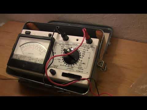 Тестер мультиметр прибор комбинированный Ц43101
