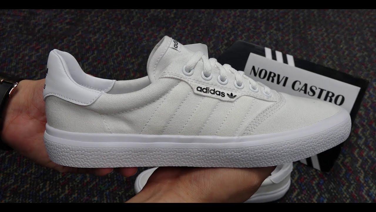 Adidas 3MC white - YouTube