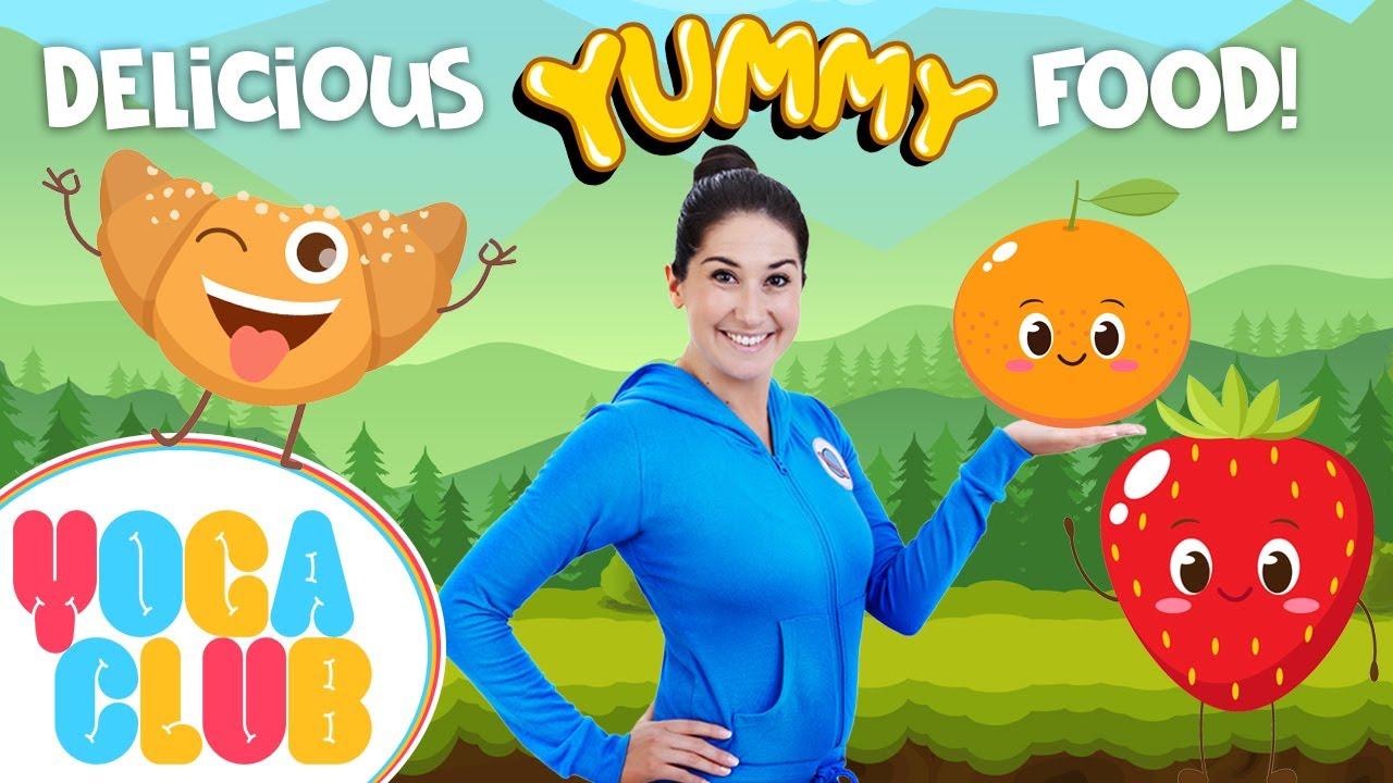 Food Themed Kids Yoga: Yoga Club (Week 9)   Cosmic Kids