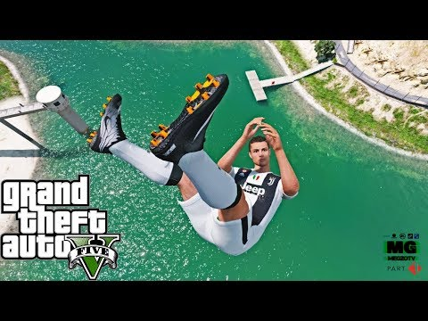 GTA 5 Water Ragdolls | CRISTIANO RONALDO Jumps/Fails (Euphoria Physics | Funny Moments)
