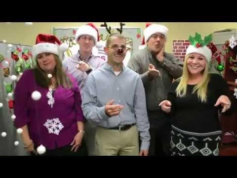 T Baker Smith Christmas Lip Sync 2014