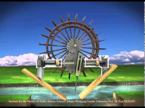 pumping station driven by a water wheel youtube