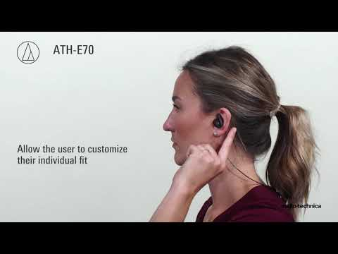 ATH-E70 Overview | Professional In-Ear Monitor Headphones