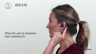 ATH-E70 Professional In-Ear Monitor Headphones