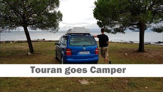 Turn your Van/Bus into a Camper featuring VW Touran