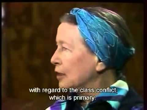 Simone de Beauvoir: 1975 Interview English Subs