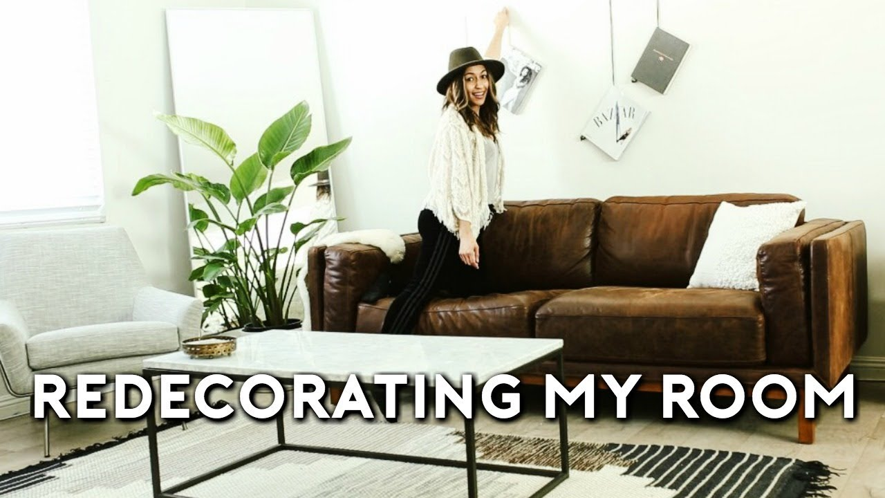 Extreme Room Makeover Redecorating My Room 2018 Youtube