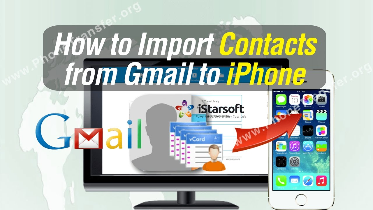 how to transfer contacts from one iphone to another how to import contacts from gmail to iphone x 8 7 plus 7 3655
