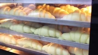 Приготовление круассанов в конвекционной печи Piron PF7604