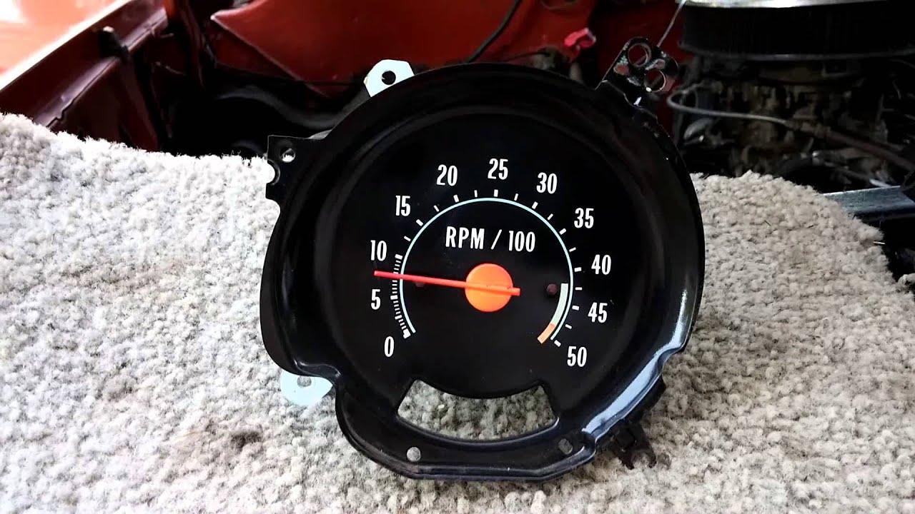 oem 1978 chevy truck tachometer test