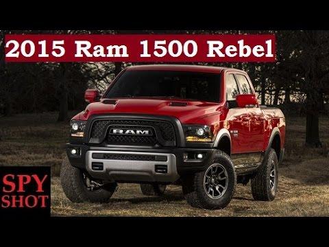 2015 Ram 1500 Rebel - 2015 Detroit Auto Show ! - YouTube