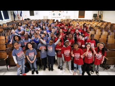 PS22 Chorus from Staten Island creates worldwide buzz with v