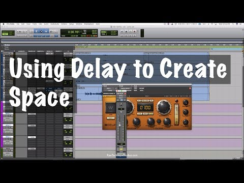 Using Delays To Create Space