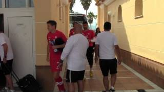 RAW: canMNT arrives prior to 0-0 draw vs. Mauritania in Spain