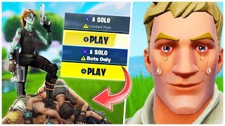 HOW TO GET INTO BOT LOBBIES IN FORTNITE SEASON 10 - EASY WINS | SMALL LOBBY GLITCH TUTORIAL SEASON X