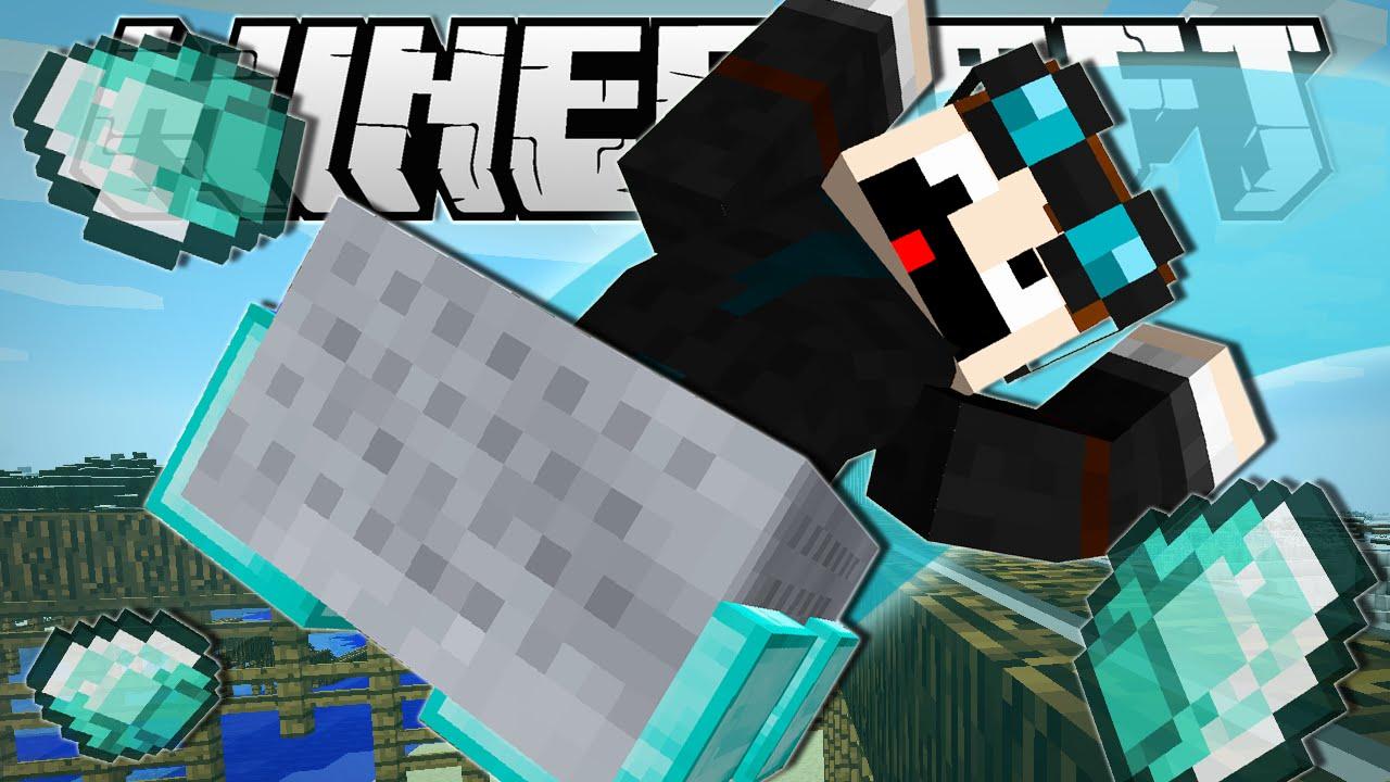 Minecraft | DIAMOND MINECART INFINITE ROLLERCOASTER ...
