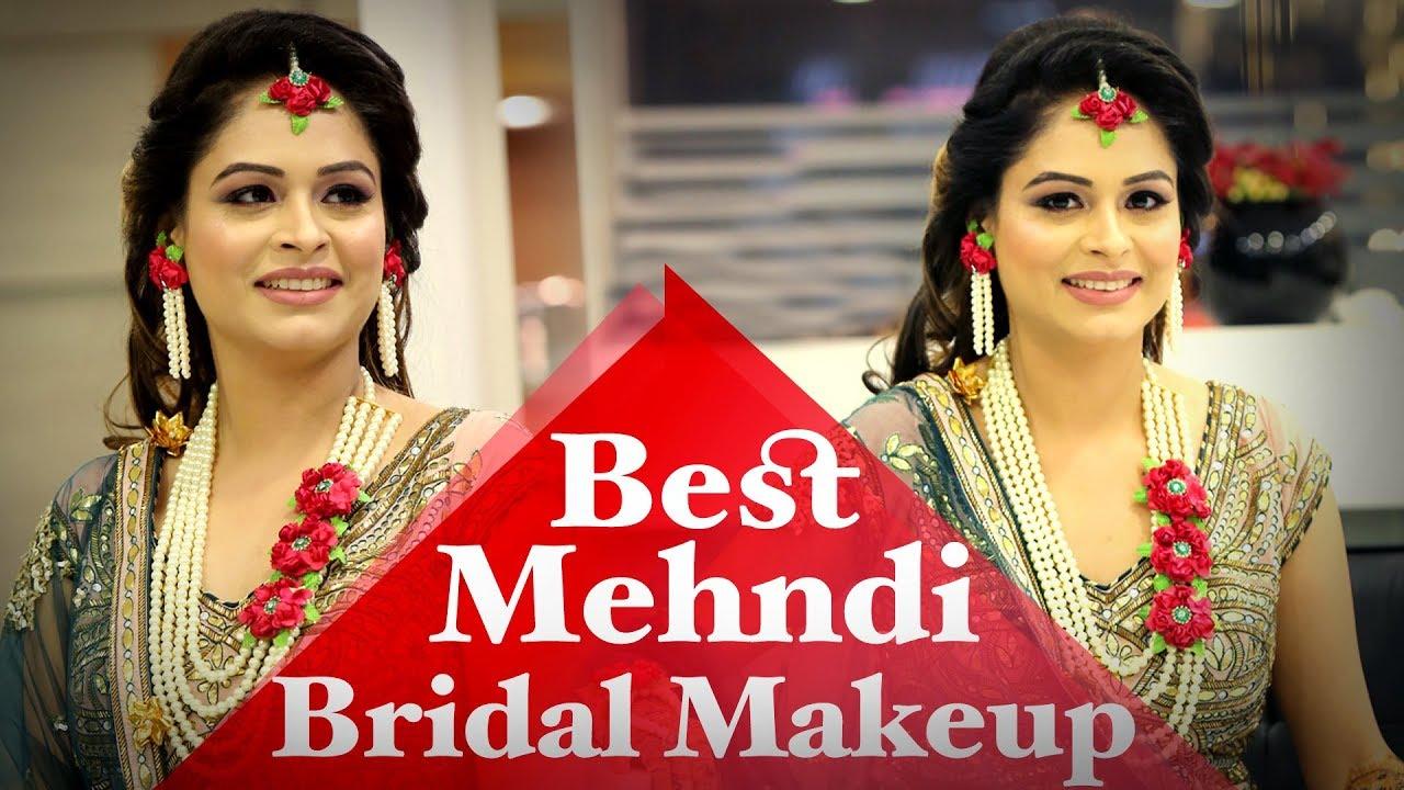 Makeup For Mehndi Function : Bridal makeup tutorial for mehendi function best indian