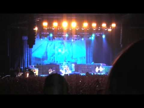 Iron Maiden-7.Wasted Years(Christchurch,New Zealand 2009)