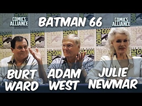 Batman Press Conference w/ Adam West, Burt Ward and Julie Newmar at Comic-Con 2014