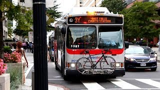 WMATA Metrobus Action In Various Parts Of Washington D.C. & Virginia