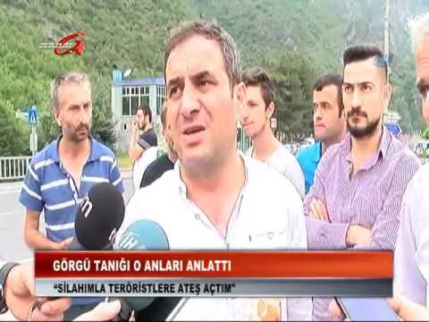 Kanal G - Maçka'da Polise Hain Saldırısının  Görgü Tanığı Olayı Anlattı