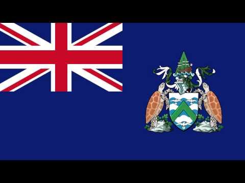 Bandera e Himno de Ascensión (Reino Unido) - Flag and Anthem of Ascension (United Kingdom)