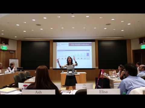 Presentation at Harvard Business School (HBS)
