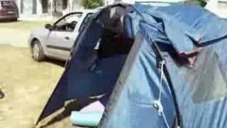 video emplacement camping tharon