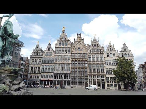Anvers Gezisi Belcika