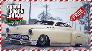 GTA Online Festive Surprise 2017 DLC - NEW Vehicle Released, Snowfall, FREE Car On Christmas & MORE!