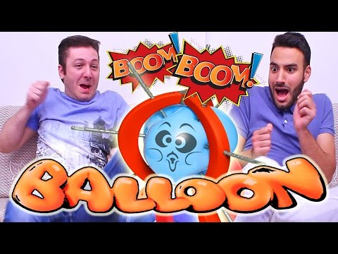 Boom Boom Balloon Challenge by Greeks! (Tolis & Vore)