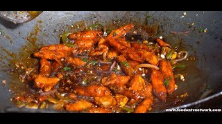 Paneer Chilli | Street Food cooking skills | China Town Part-1