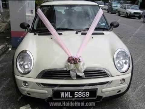 Easy DIY Wedding Car Decoration Ideas