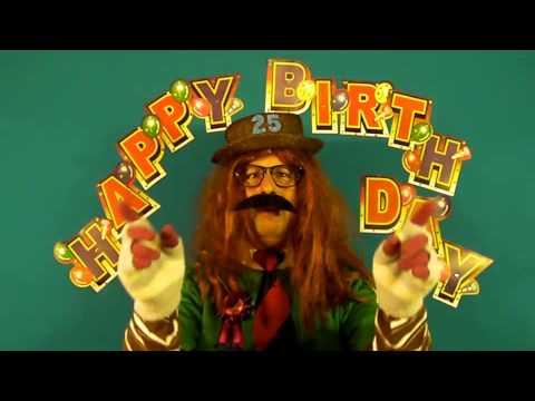 HAPPY BIRTHDAY  25 YEAR OLD.