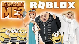 DESPICABLE ME 3 Roblox Adventure Obby - ESCAPE THE MINIONS!