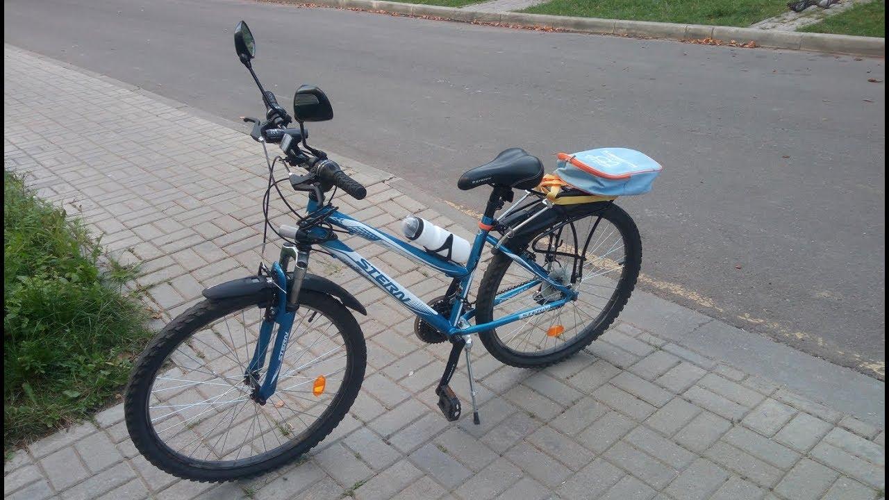 Как поменять подшипники заднего колеса. Велосипед Stels Navigator .