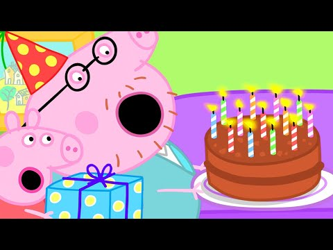 Peppa Pig Official Channel | Peppa Pig Makes a Surprise Birthday Cake