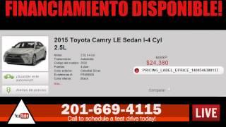 2015 Toyota Camry LE Sedan I-4 Cyl 2.5L Maywood NJ | 201-669-4115 |De Venta | Se Vende Toyota Camry
