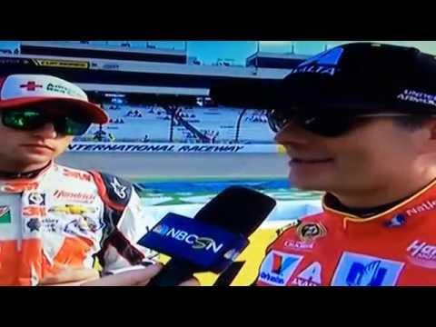Jeff Gordon & Chase Elliott Richmond Pre Qualifying Interview 9/9/16