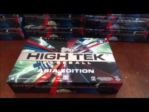 2015 Topps High Tek and Tek Asia Baseball Dual Case Break #32